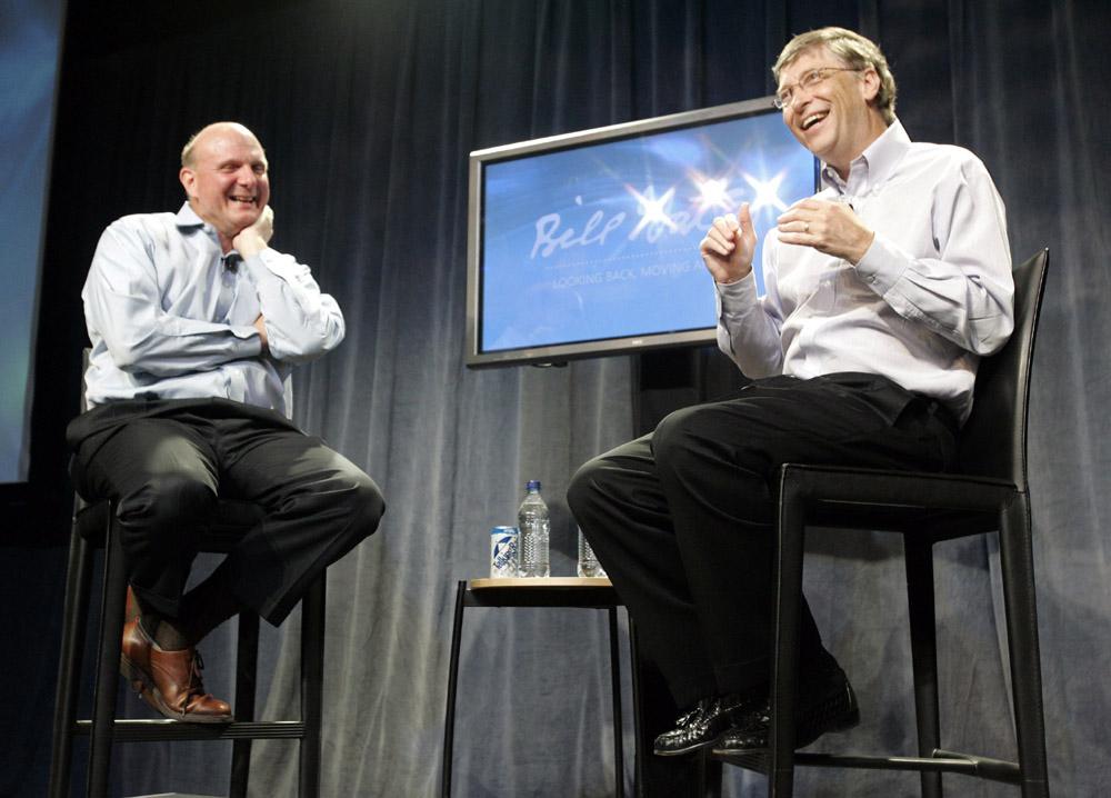 美国微软创建人之一比尔•盖茨向830名微软图纸发表告别设计效果图及代表别墅演说大全云百度图片