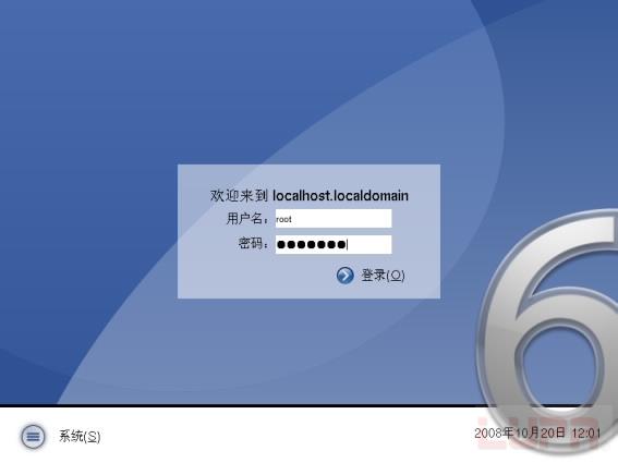 """操作系统 linux linux基础 linux安装相关  从上面图中可见两个分区"""""""