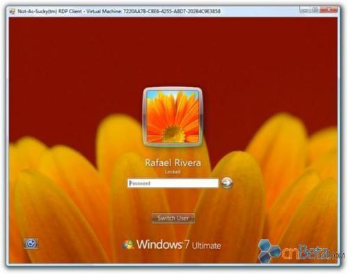 windows 7登录界面背景图片按心情定制图片