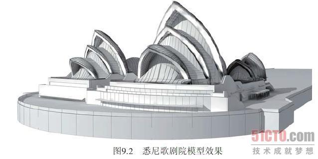 悉尼歌剧院 结构图