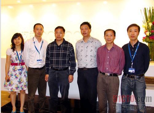 科技北京运营总部,就政府信息化建设与汉柏科技技术中心总经理杨海涛