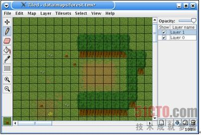 图9-7 tiled地图编辑器