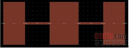 对比原理图和版图可以发现,原理图中构成滤波器电路的各种微带线元