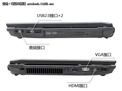 华硕p43s笔记本评测