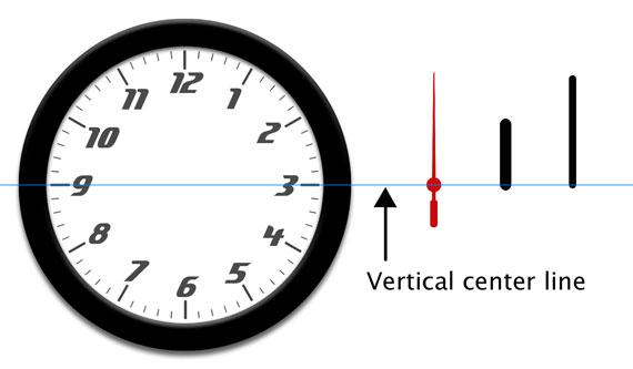 首先,我们需要准备一些图片来作为时钟的图形界面.